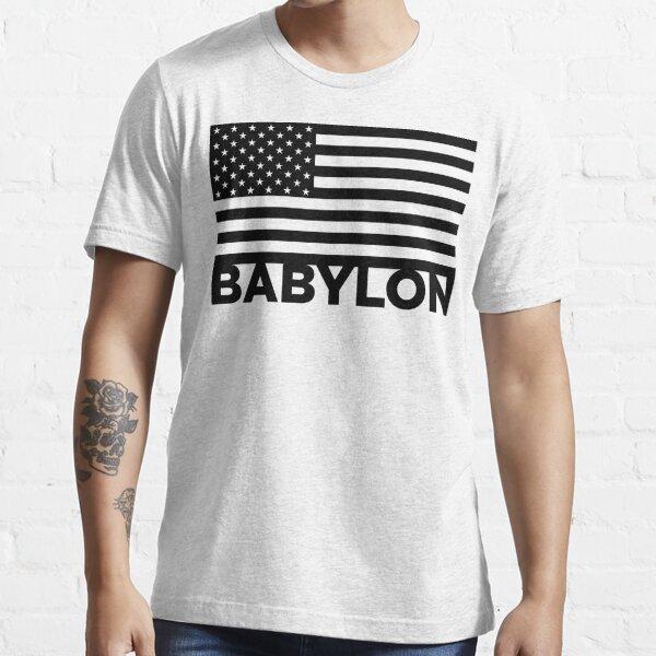 BABYLON FLAG BLK Essential T-Shirt