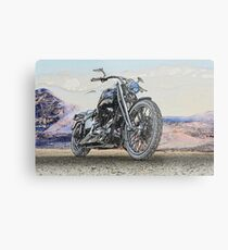 Chopper Illustration II Metal Print