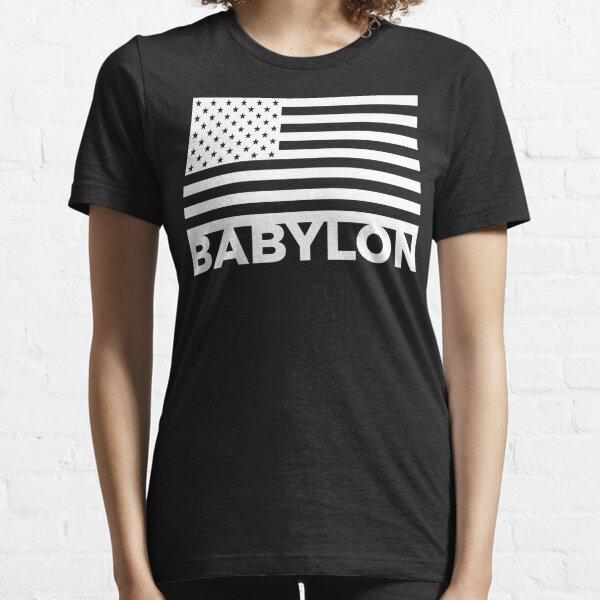 BABYLON FLAG WHT Essential T-Shirt