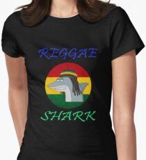 Reggae Shark Dreadlock Women's Fitted T-Shirt