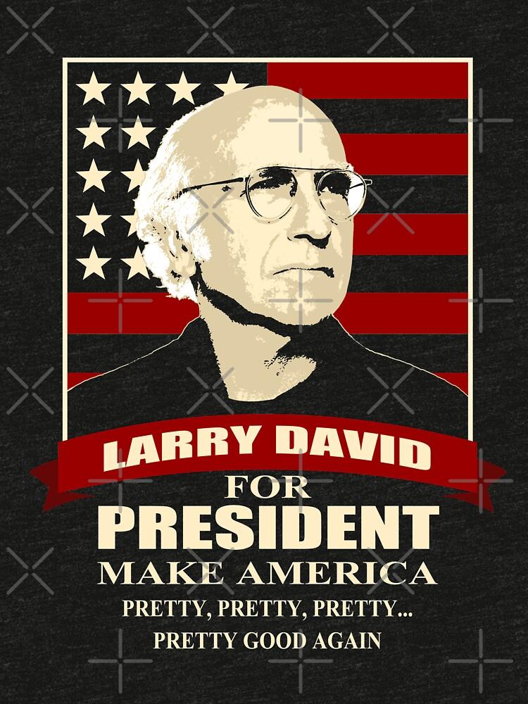 Larry David para presidente de pinochle