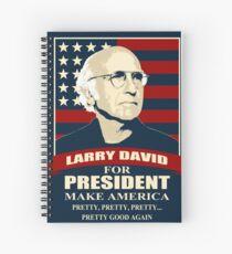Larry David für den Präsidenten Spiralblock