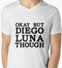 Diego Luna Men's V-Neck T-Shirt