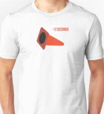 Autocross cone down, +2 seconds Unisex T-Shirt