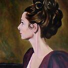 portrait of a woman by Hidemi Tada