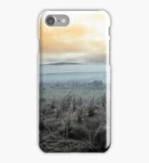 Fog rolling into the graveyard iPhone Case/Skin