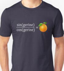 tan(gerine) math Slim Fit T-Shirt