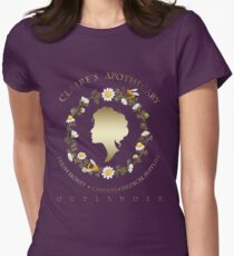 Claire's Apothecary (Cameo Version) Womens Fitted T-Shirt