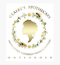 Claire's Apothecary (Cameo Version) Photographic Print