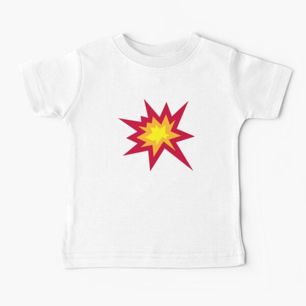 Explosion fire boom  Baby T-Shirt