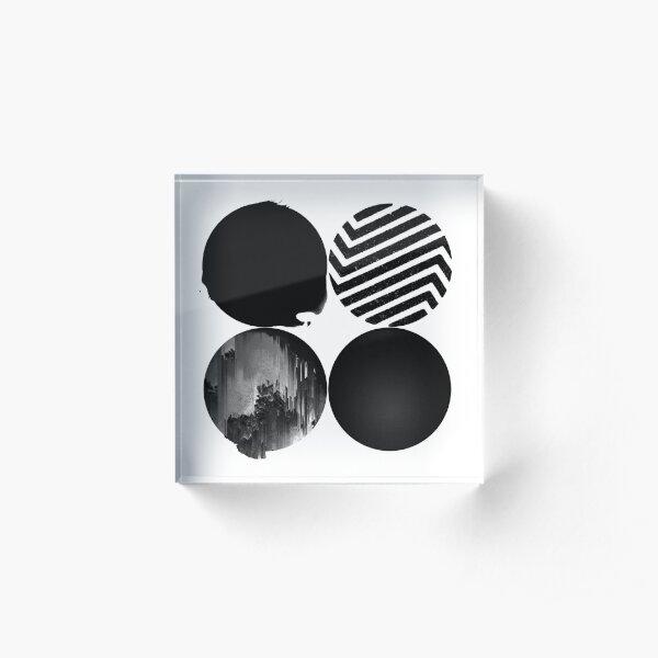 BTS Wings Acrylic Block