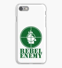 Rebel Enemy Green iPhone Case/Skin