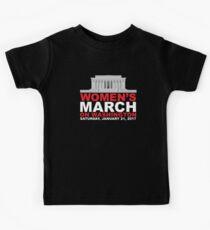 Women's March on Washington January 2017 Kids Tee