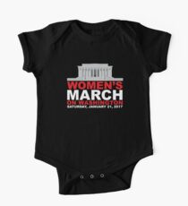 Women's March on Washington January 2017 One Piece - Short Sleeve