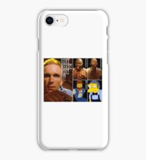 Pulp Fiction movie red ball gag gimp moe iPhone Case/Skin