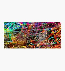 Radiant Abstract - Contemporary Digital Painting Photographic Print