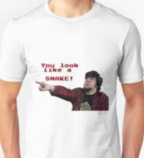 JonTron: YOU LOOK LIKE A SNAKE!  T-Shirt