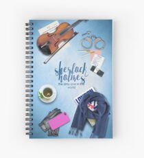 consulting detective Spiral Notebook