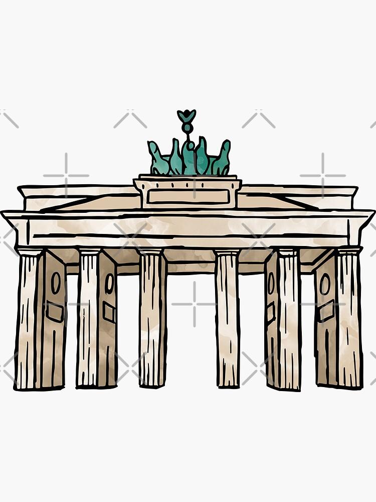 Berlin Brandenburg Gate by aterkaderk