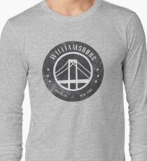 Hipster Williamsburg Graphic Long Sleeve T-Shirt