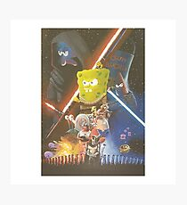 Rogue One SpongeBob SquarePants Photographic Print