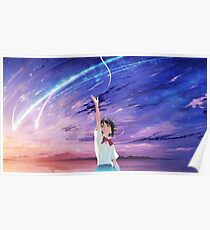 Kimi no Na wa. - Reach for the Stars Poster