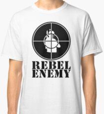 Rebel Enemy Black Classic T-Shirt