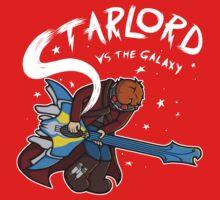 Star Lord vs The Galaxy   Unisex T-Shirt