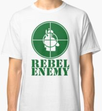 Rebel Enemy Green Classic T-Shirt