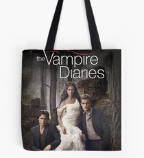 The Vampire Diaries Cover Tote Bag