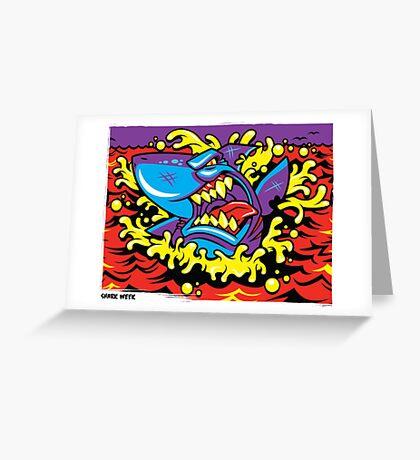 Shark Week Greeting Card