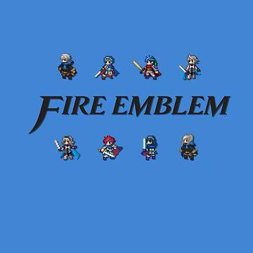 SMASH LORDS | Fire Emblem by Rotom479