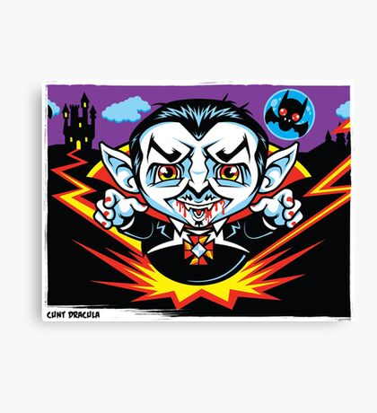 Cunt Dracula Canvas Print