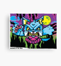 Bleeder of the Pack Canvas Print