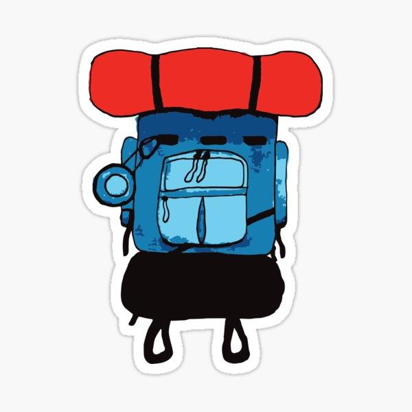 Backpacker Sticker