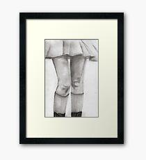 Legs Eleven Framed Print