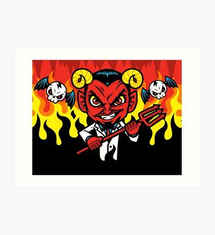 Bloody Hell Art Print