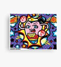 Wonder Womban Canvas Print