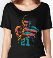 Tribute to Tim Duncan Women's Relaxed Fit T-Shirt