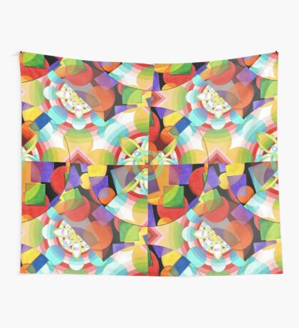 Prismatic Ombre Wall Tapestry