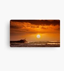 6:03 PM Hawaii Time Canvas Print