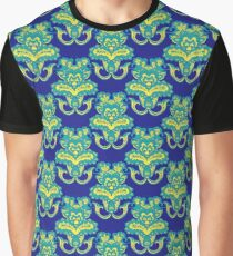 Ethnic indian floral ornament Graphic T-Shirt