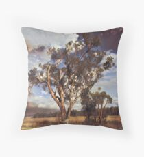Australian Windswept Tree 01 Throw Pillow