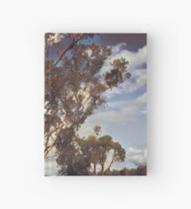 Australian Windswept Tree 01 Hardcover Journal