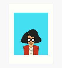 80's Hair Tina  Art Print
