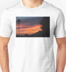 SUNRISE WITH LONE SENTINEL OVER DESERT Unisex T-Shirt