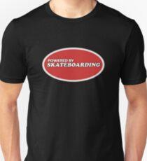 Powered By Skateboarding Cool Skater T-Shirt For Skateboarders Unisex T-Shirt