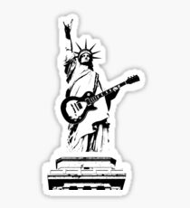 Rockin' in the USA Sticker