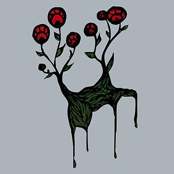 Rosebush de skinnyginny