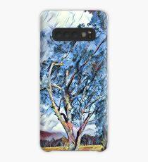 Australian Windswept Tree 02 Case/Skin for Samsung Galaxy